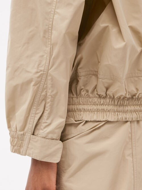 Thumbnail for your product : Stella McCartney X Adidas Jayla Side-stripe Shell Track Top - Brown Multi