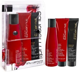 shu uemura Mini Color Lustre Color Care Hair Travel Set