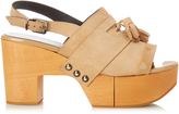 Robert Clergerie Clara wooden-platform sandals