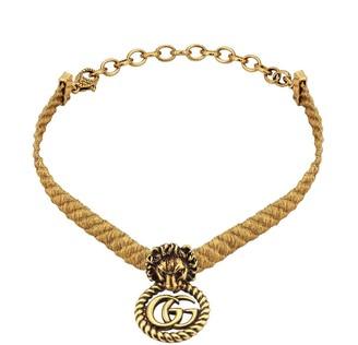 Gucci Lion Head choker