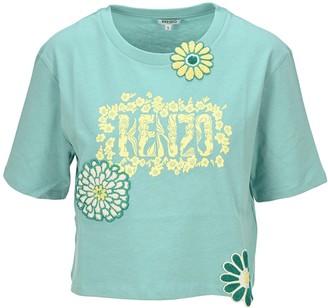 Kenzo Mermaids And Flowers T-Shirt