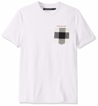 Calvin Klein Jeans Men's Chainstitch Logo Tee