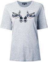 Markus Lupfer sequinned bird T-shirt