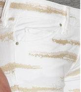Isabel Marant Zebra Embroidered Skinny Jeans
