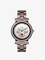 Michael Kors Sofie Pave Sable-Tone Smartwatch