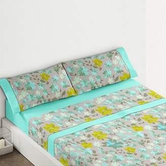 Camilla And Marc Burrito Blanco Burrito White tr1436 14 1051B Bedding Set, Cotton Blend, Blue, 39 x 27.5 x 4.5 cm