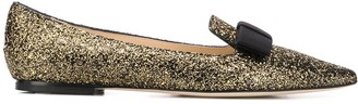 Jimmy Choo Gala pointed ballerina shoes