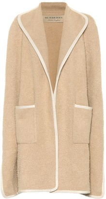 Burberry Wool cape coat
