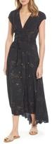 AG Jeans Women's Daphne Wrap Maxi Dress
