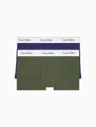 Calvin Klein Modern Cotton Stretch 2 Pack Trunk