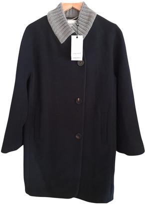 Georges Rech Blue Wool Coats