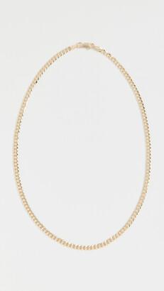 Adina's Jewels Extra Flat Cuban Chain Necklace