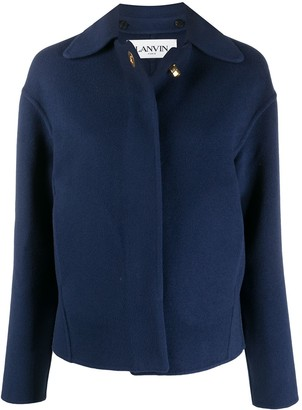 Lanvin Buttoned Fitted Jacket