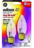 GE 16767 - 40Bfm/H Decorative Halogen Light Bulb