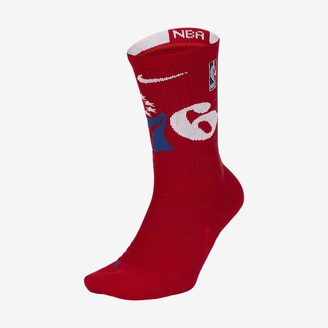Nike NBA Crew Socks Philadelphia 76ers Elite