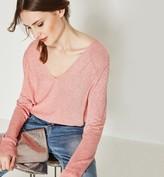 Promod Glitzy openwork jumper
