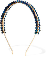 Rosantica Allodola Gold-tone Quartz Headband - Blue