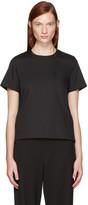 Sacai Black Classic Shirting Pleated Shirt
