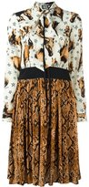 Fausto Puglisi multi print dress