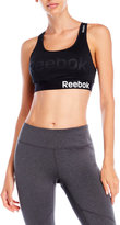 Reebok Charger Embossed Sports Bra