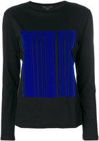 Alexander Wang Barcode logo knitted top