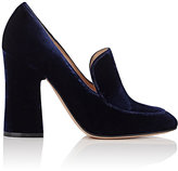 Gianvito Rossi Women's Velvet Loafer Pumps