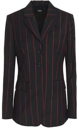 Versace Pinstriped Wool Blazer