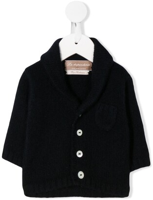 La Stupenderia long-sleeve fitted cardigan