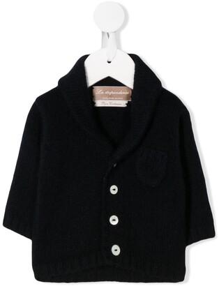 La Stupenderia Long-Sleeve Fitted Cardigan