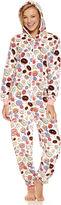 Asstd National Brand Donuts Long Sleeve One Piece Pajama