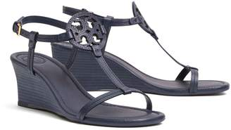 Tory Burch Miller Wedge Sandal, Tumbled Leather