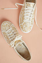 Keds x Rifle Paper Co. Gold Print Sneakers