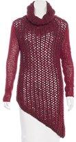 Helmut Lang Thick Knit Turtleneck Dress