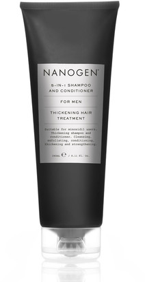 Nanogen 5 In 1 Exfoliating Shampoo And Conditioner For Men 240Ml