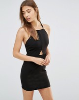 Oh My Love Plait Bodycon Dress