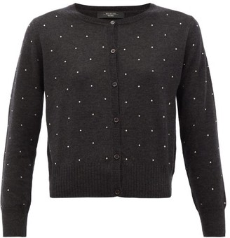 Max Mara Vespa Cardigan - Dark Grey