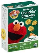 Earth's Best Sesame Street Crunchin' Crackers