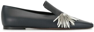 Neous Embellished Flat Loafers