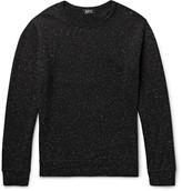A.p.c. - Loopback Slub Cotton-blend Sweatshirt