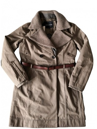 Peuterey Beige Cotton Trench Coat for Women