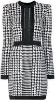 Balmain Pepita houndstooth dress - women - Polyamide/Spandex/Elastane/Viscose - 34