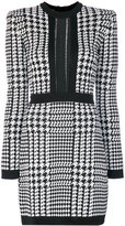 Balmain Pepita houndstooth dress