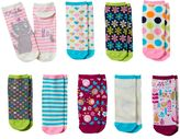 Pink Cookie Girls 9-pk. Print Low-Cut Socks