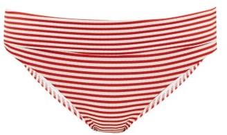 Melissa Odabash Provence Striped Bikini Briefs - Womens - Red Stripe