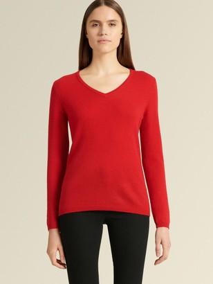 DKNY V Neck Cashmere Sweater