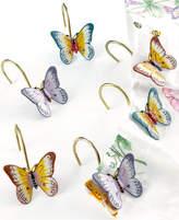"Lenox Butterfly Meadow"" Shower Curtain Hooks, Set of 12 Bedding"