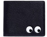 Anya Hindmarch 'Eyes' embossed leather bifold wallet