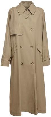 Stella McCartney Cotton Double Breast Trench Coat