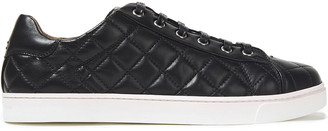 Gianvito Rossi Low Driver Quilted Leather Sneakers