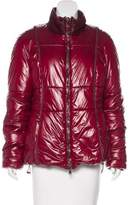 Henry Beguelin Ponyhair-Trimmed Quilted Jacket